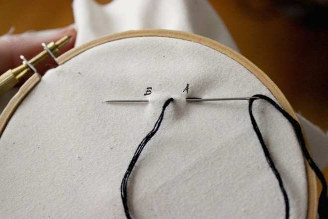 Back Stitch Step 2 My Actual Brand Simple Embroidery copy