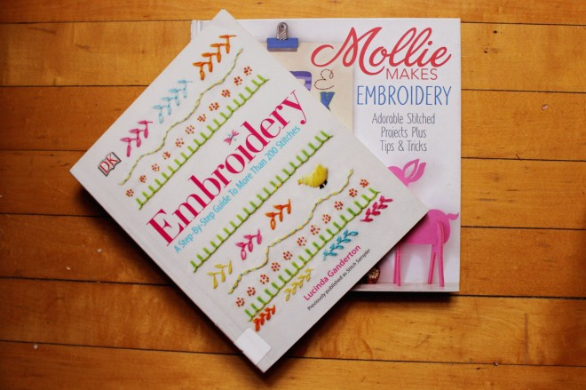 Embroidery Books My Actual Brand