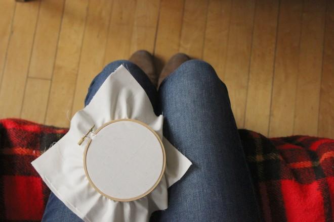 Embroidery Hoop Beginner Tutorial My Actual Brand
