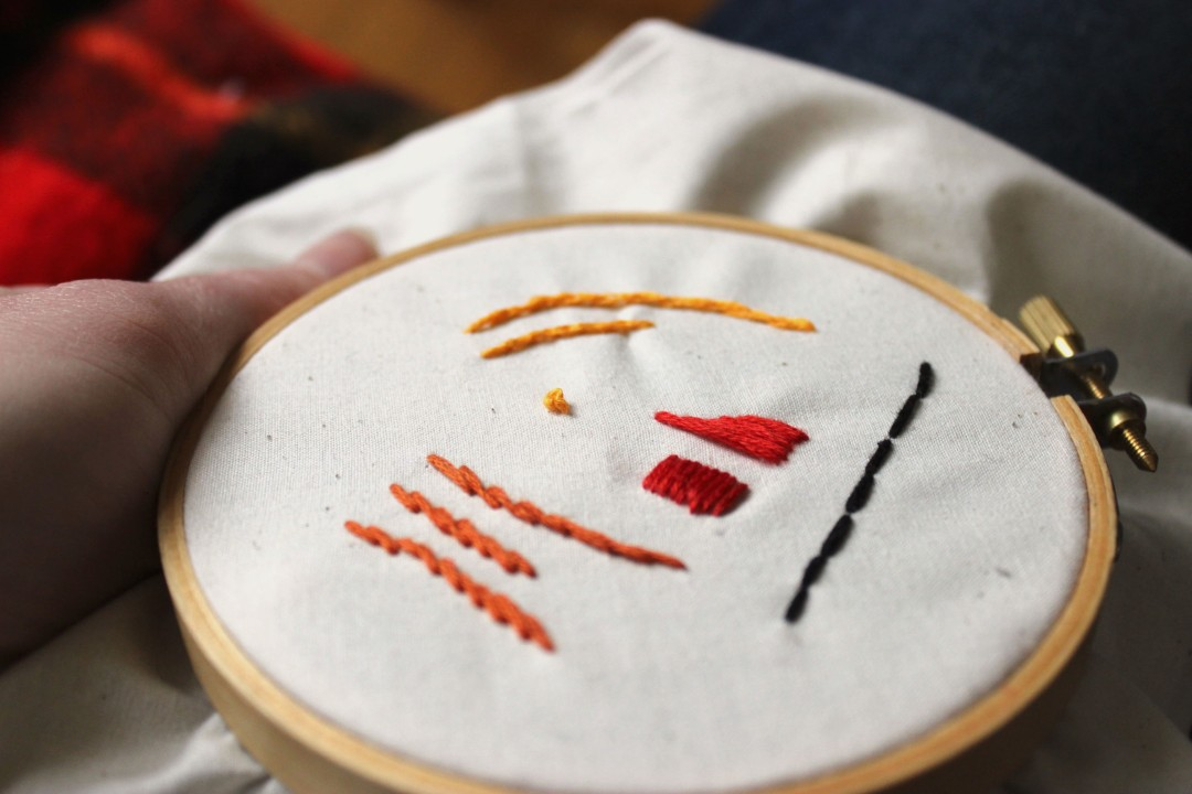 French Knot Final Embroidery Tutorial Easy Beginners