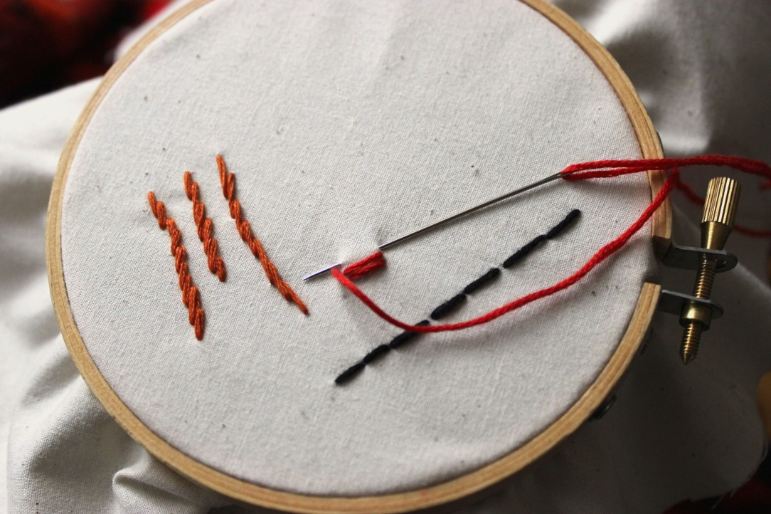 Satin Stitch Step 3 Embroidery For Beginners