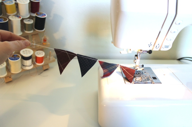 DIY Bunting Cake Topper Step 5