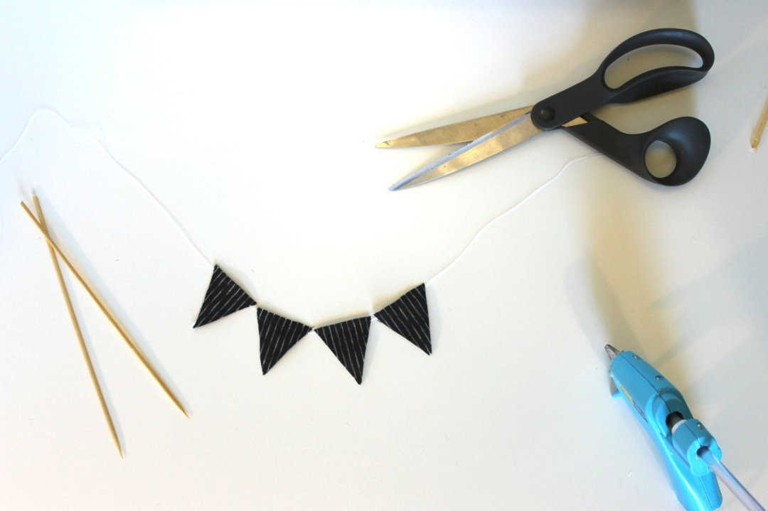 DIY No Sew Bunting Cake Topper Step 4.JPG
