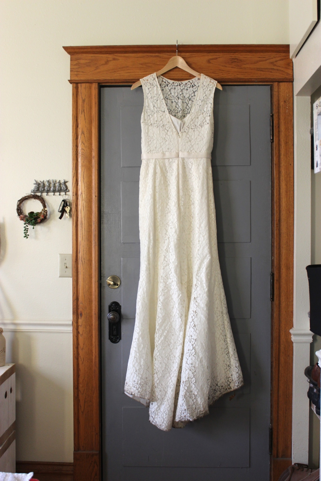 Wedding Dress After