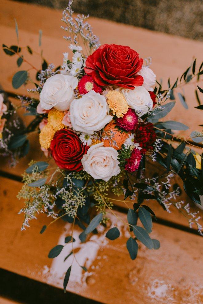 DIY wedding bouqet