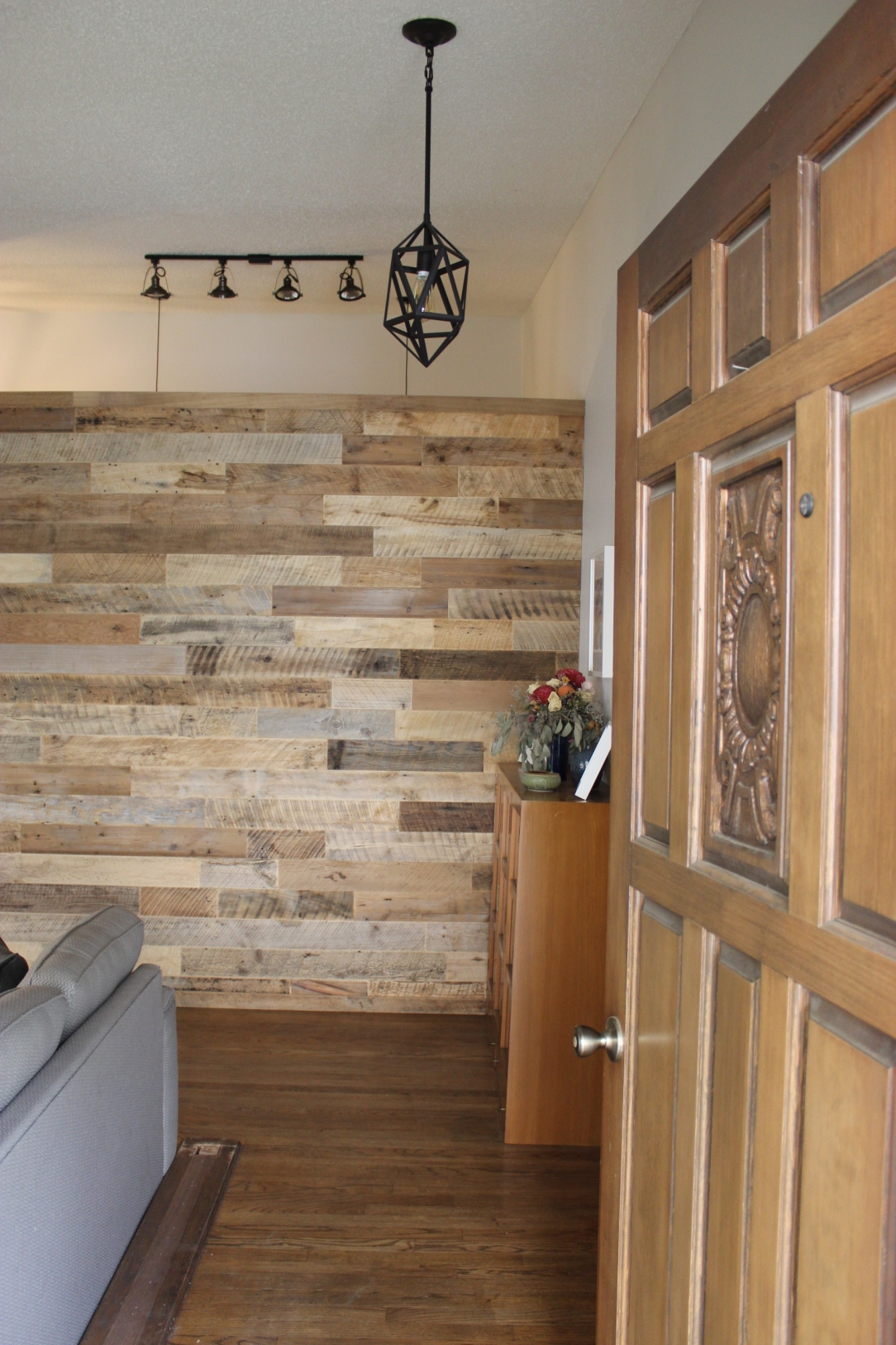 Reclaimed Wood Wall My Actual Brand